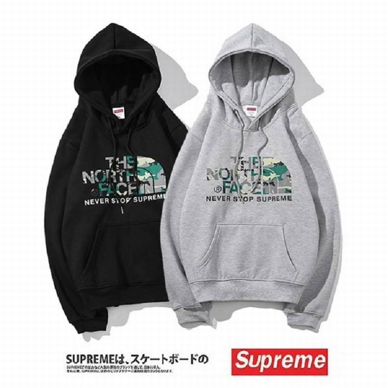 supreme union 2 colors grey black velvet hoodie camo logo