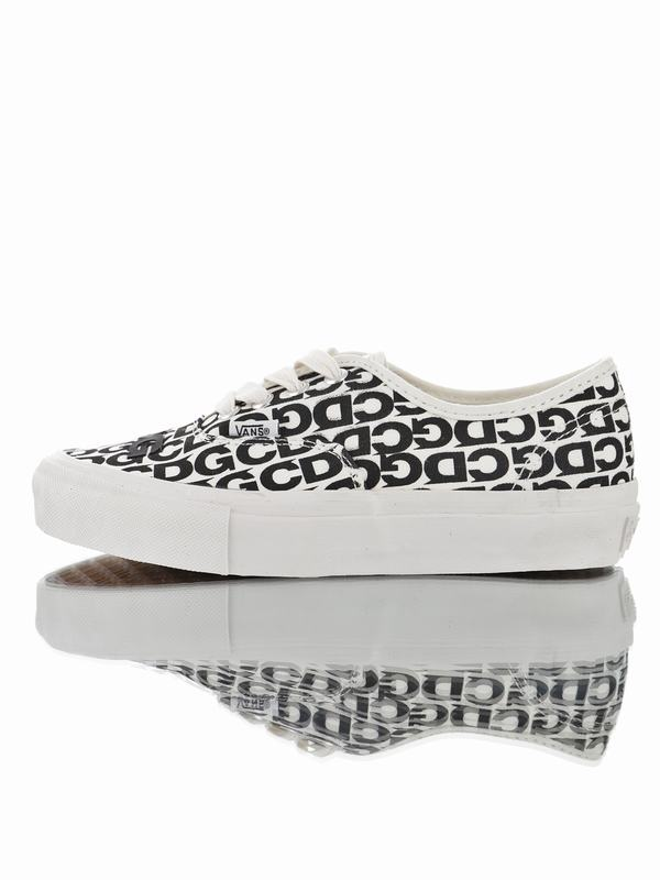 Comme des Garcons x Vans Vault Authentic LX Black White SN 02001MX